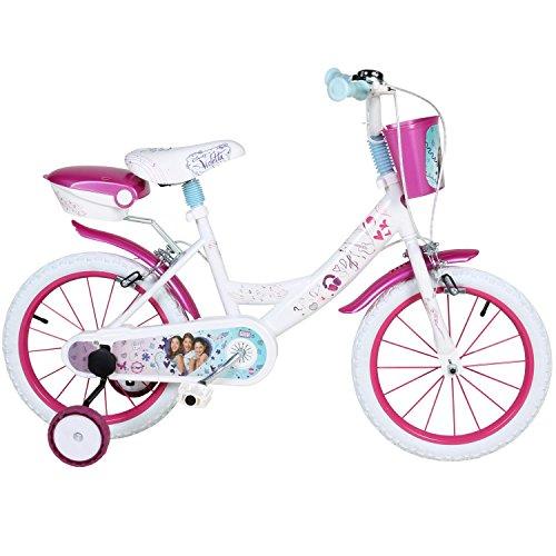 16 Zoll Disney Violetta Kinderfahrrad Fahrrad für Mädchen ab ca. 4 Jahren