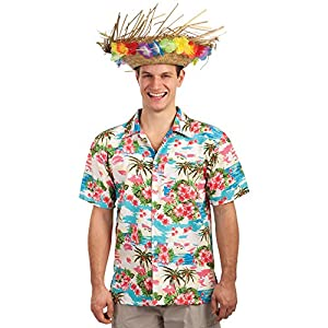 Carnival Toys - Camisa Hawái en bolsa, talla única, multicolor (1406)