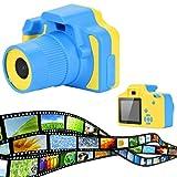 LCLrute Hohe Qualität Kinder Digitalkamera 2,0 Zoll Bildschirm HD Mini Kinder Kamera Spielzeug Action Kamera Camcorder (Blau)