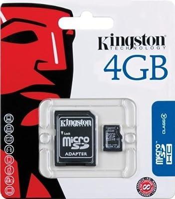 Kingston SDC4 Carte Micro SDHC Classe 4 de Kingston - Carte Mémoire, Cartes SD , Cartes micro SD