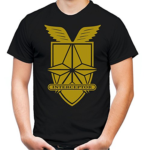 Interceptor Männer und Herren T-Shirt | Spruch Auto Kleidung Geschenk (XL, (Fury Kostüm Road Max Mad)