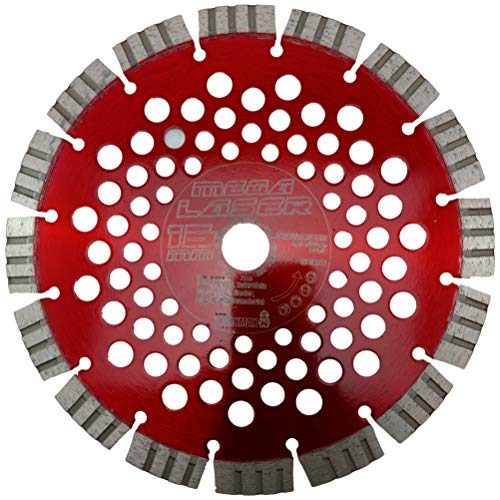 WERKMAX Diamant Trennscheibe ORIGINAL MEGA-LASER 15mm Turbo-Segment | Ø 230 mm / 22,23 mm Diamantscheibe