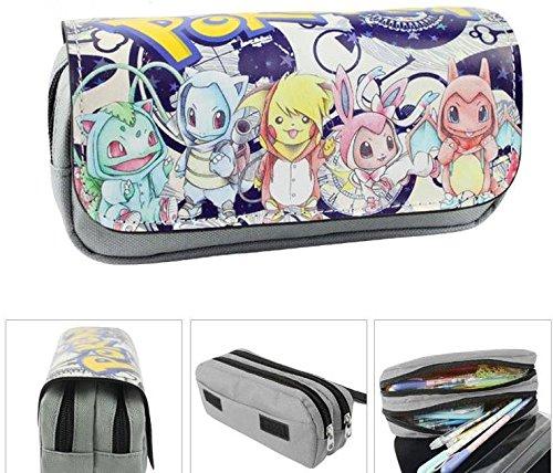 Kids Craze UK bebé Pokemon estuche dos compartimentos