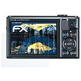 atFoliX Panzerfolie für Canon PowerShot SX610 HS Folie - 3 x FX-Shock-Clear stoßabsorbierende ultraklare Displayschutzfolie