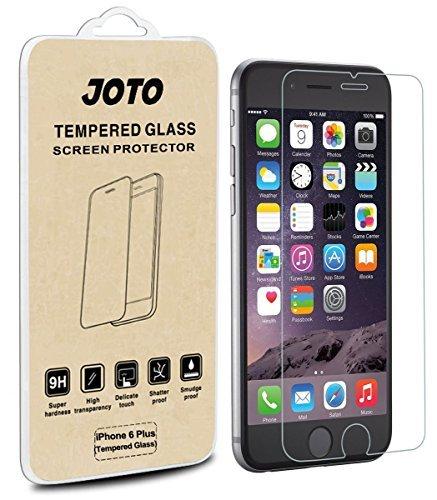 iPhone 6S Plus/6Plus 5.5Displayschutzfolie–JOTO Premium gehärtetes Glas Displayschutzfolie Guard für Apple iPhone 6S Plus/6Plus 14cm (1Pack), Farblos (Iphone Screen 6 Protector Joto)