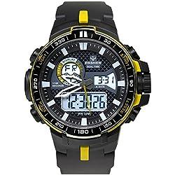 boys digital watch/Dual sport watch/Outdoor waterproof watch-C