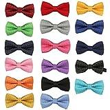 Garçons Kid enfants bébé coton pré-liés fête mariage Bow Tie cravate noeud papillon Fulltime® (A)