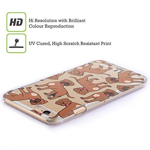 Head Case Designs Rhodesian Ridgebacks Modelle Hunde Rassen 8 Ruckseite Hülle für Apple iPhone 5 / 5s / SE Bordeauxdogge