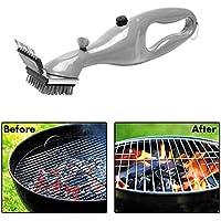 boldion (TM)–Spazzola per pulizia barbecue in acciaio inox barbecue griglia