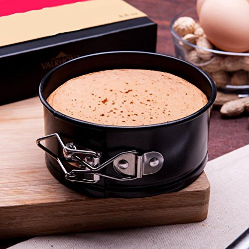 Globalflashdeal 4-Zoll-Antihaft-Pfanne/Kaesekuchen-Pfanne/auslaufsicheres Kuchen-Pan Bakeware/mit Putztuch-Schnellkochtopf (Schnellkochtopf-käsekuchen-pfanne)