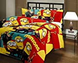 Renown Minions Cartoon Kids Design Print...