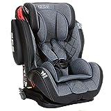 LCP Kids GT Comfort Auto Kindersitz 9-36 kg Isofix Liegefunktion SPS Seitenschutz Grau