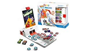 Osmo 901-00006 Game-MindRacers Kit Ages 7+ -Race a Real Hot Wheel Car On Screen-iPad Base Included