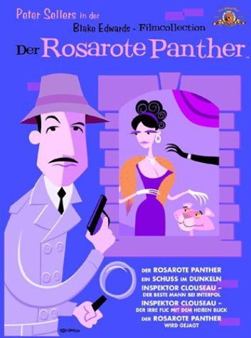MGM Home Entertainment GmbH (dt.) Der Rosarote Panther - Blake Edwards Filmcollection [6 DVDs]