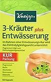Kneipp 3-Kräuter Entwässerung plus, 60 Kapseln, 27,6 g
