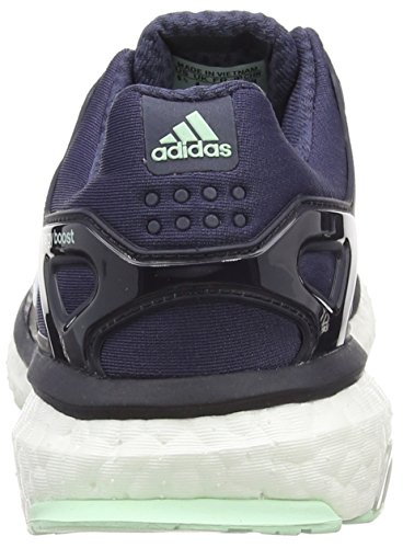 adidas  Energy Boost ESM, Chaussures de course femmes Gris - Grau (Midnight Grey F15/Ftwr White/Frozen Green F15)