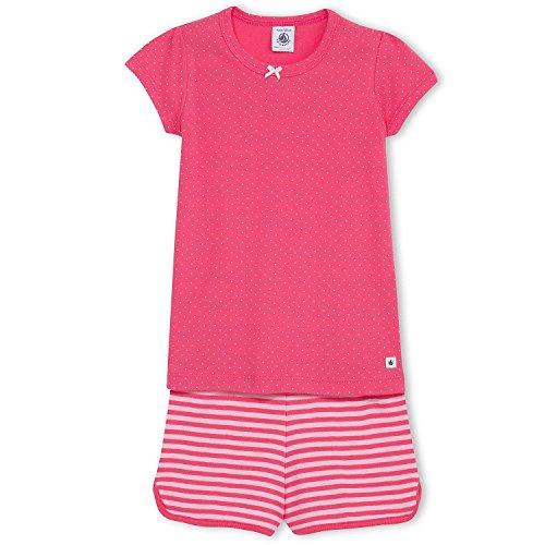 Petit Bateau -  Pigiama due pezzi  - ragazza rosa 4 anni
