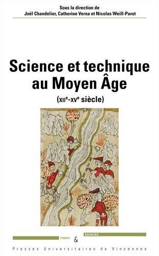 Science et technique au Moyen Age (XIIe-XVe siècle) por Collectif