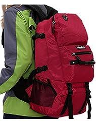 Caminatas al aire libre 40L gran capacidad mochila mochila de senderismo , 2