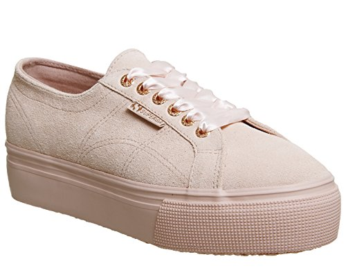 Superga 2790 Cotw Linea Up and Down, Sneakers Basses femme Spanish Exclusive Suede Exclusive