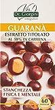 Dr. Giorgini Integratore Alimentare, Monocomponenti Erbe Guaranà Estratto Titolato al 50% in Caffeina Pastiglie - 30 g