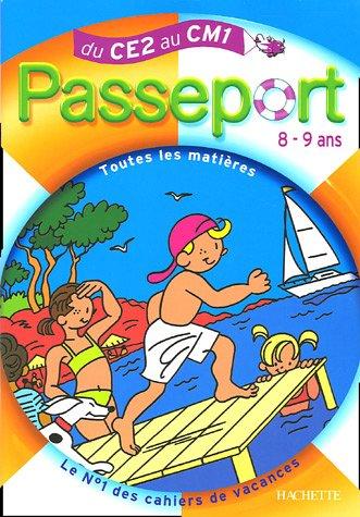 Passeport 8-9 Ans : Du CE2 Au CM1
