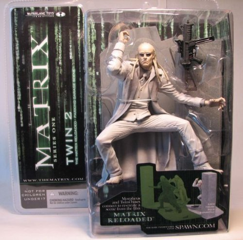 Mcfarlane the Matrix Series 1 Twin 2 by Movie Figures