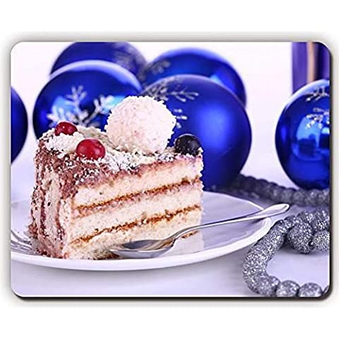 high quality mouse pad,cake beads dessert new year toys,Game Office MousePad size:260x210x3mm(10.2x 8.2inch)