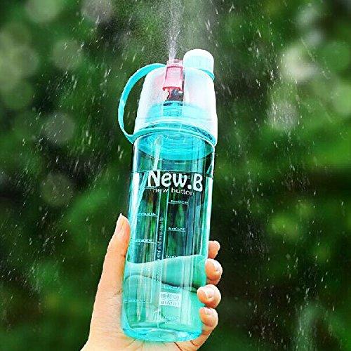 oor Spray Wasser Flasche Tragbar großes Fassungsvermögen Feuchtigkeitsspendende Wasser Flasche Cup ()