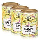 Goldmännchen Tee PUROMA Energy / Ingwer Orange, Kräutertee, Früchtetee, Teebeutel, Tee Pads, 75 Puroma-Beutel