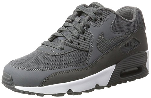 Nike Air Max 90 Mesh (GS),Grau, 36.5