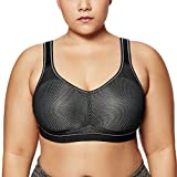 Best Wirefree Bras - SYROKAN Women's High Impact Support Wirefree Plus Size Review