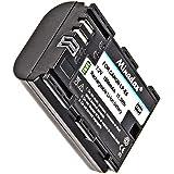 Impulsfoto Batterie lithium-ion pour canon eOS 70D, 60D, 7D mark II, 6D, 5D mark III, 5D mark II, équivalent du modèle lP-E6