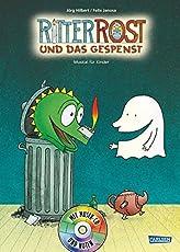 Ritter Rost 2: Ritter Rost und das Gespenst: Buch mit CD