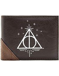 Cartera de Harry Potter Reliquias De La Muerte Marrón