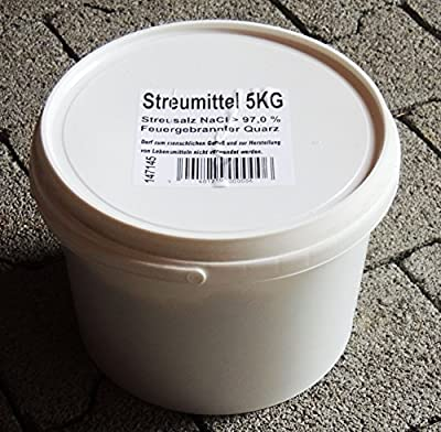 Streusalz Auftausalz 3x 5 kg im Eimer Salz Streumittel