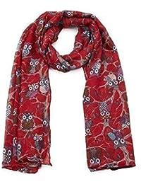 d62c138fd894 Amazon.fr   cadeau noel - Rouge   Echarpes   Echarpes et foulards ...