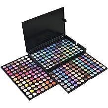E821 Paleta de Sombra de Ojos 252 Colores Maquillaje Profesional Cosmético de Belleza Ojo Shadow Conjunto de Paleta