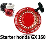 Seilzugstarter Zugstarter Stromerzeuger passend z.B. f. Honda GX120, GX140, GX160, GX200.