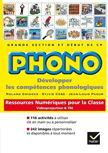 Phono gs-cp activités de découvertes interactives pour la classe (1Cédérom) par Collectif