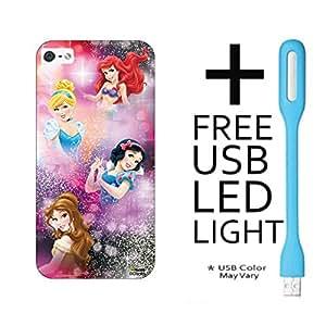 Hamee Disney Princess Official Licensed - Designer Case Cover Hard Back Case for Letv Le 1s / LeEco Le 1s with Free LED - Design 3