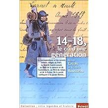 14-18, le cri d'une génération