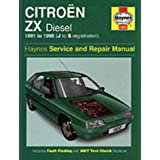 Citroen ZX Diesel (1991-1998) Service and Repair Manual