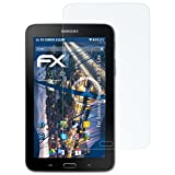 atFolix Panzerfolie für Samsung Galaxy Tab 3 7.0 Lite Folie - 2 x FX-Shock-Clear stoßabsorbierende ultraklare Displayschutzfolie