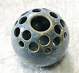 Kugelvase Steckvase Keramik Handarbeit mini