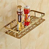 XXTT-Rack, cestino di immagazzinaggio di antico bagno di rame di rame, doppio gancio piatti cesti, basket corner , single