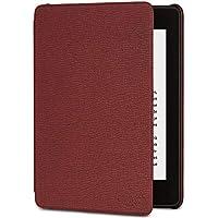 Étui Amazon en cuir pour Kindle Paperwhite (10ème génération - modèle 2018), Bordeaux