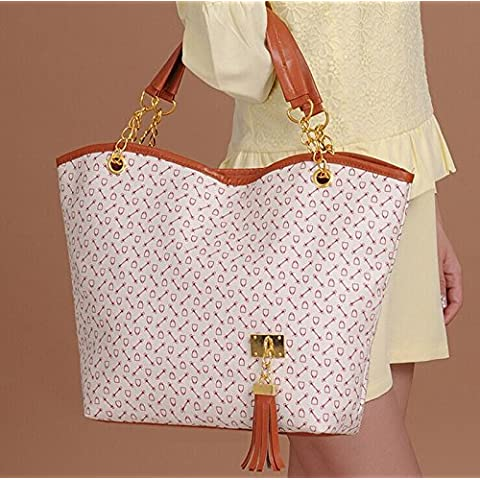 HealtheverydayNew Women Lady Fashion Leather Handbag Shoulder Tote Bag Large