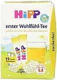 HiPP Erster Wohlfühl-Tee zuckerfrei, 6er Pack (6 x 5,4 g)