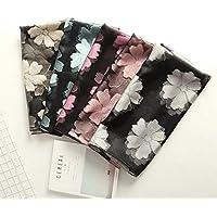 XBR la nouvelle _ écharpe velvet écharpe lace flower belle écharpe pour ma femme